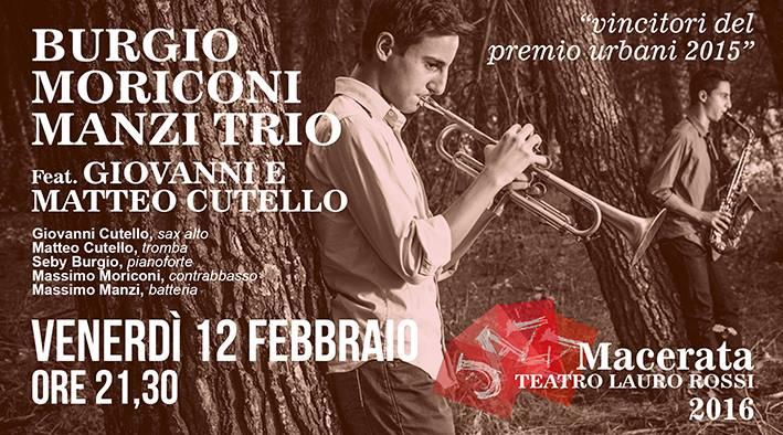 Il Gusto del Jazz al Pozzo Venerdi' 12 Febbraio