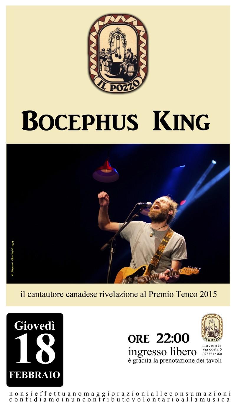 Bocephus King in concerto al Pozzo – Giovedì 18 Febbraio