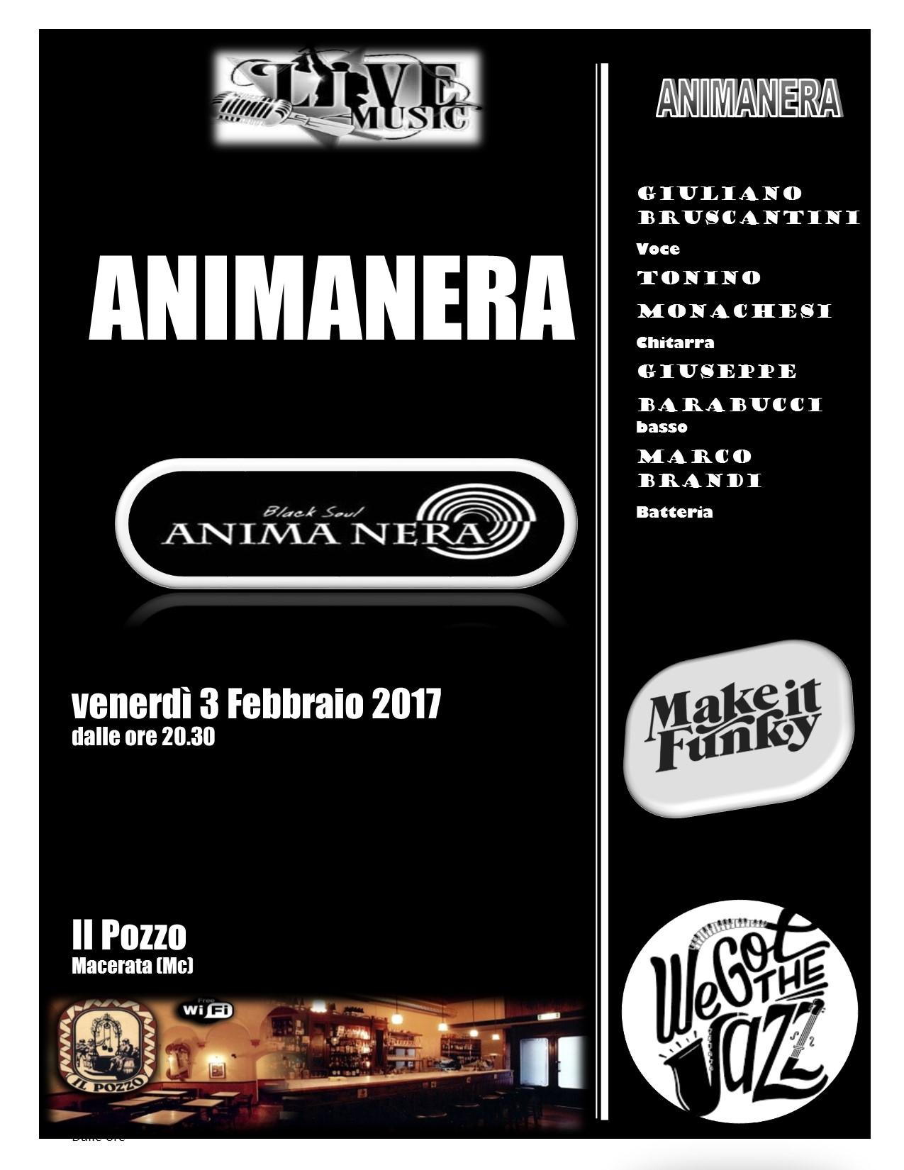 Animanera Quartet in concerto venerdì 3 febbraio